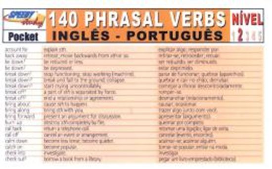 Picture of 140 PHRASAL VERBS INGLES/PORTUGUES NIVEL 2