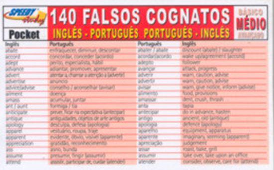 Picture of 140 FALSOS COGNATOS INGLES/PORTUGUES MEDIO