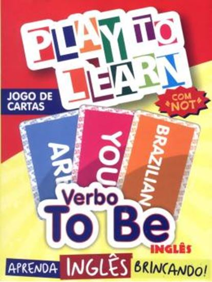 Picture of PLAY TO LEARN - JOGOS DE CARTAS - VERBO TO BE