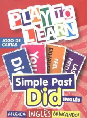 Imagem de PLAY TO LEARN - JOGO DE CARTAS SIMPLE PAST - DID