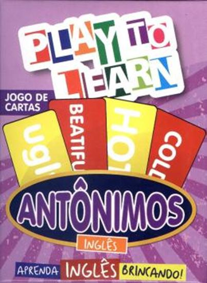 Picture of PLAY TO LEARN - ANTONIMOS