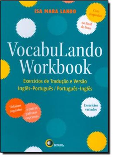Picture of VOCABULANDO WORKBOOK - EXERCICIOS DE TRADUCAO E VERSAO: INGLES-PORTUGUES / PORTUGUES-INGLES