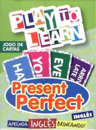 Imagem de PLAY TO LEARN - JOGO DE CARTAS PRESENT PERFECT