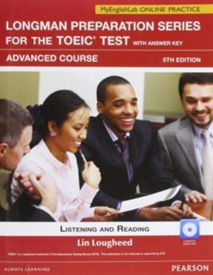 Picture of LONGMAN PREPARATION SERIES FOR THE TOEIC WITH ANSWER KEY ADVANCED / MYENGLISHLAB ONLINE PRACTICE - 5TH  ED