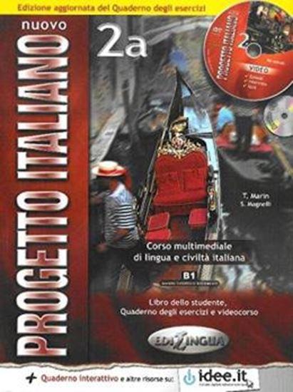 Picture of NUOVO PROGETTO ITALIANO 2A  - LIBRO DELLO STUDENTE & QUADERNO DEGLI ESERCIZI + CD ROM + CD AUDIO - NUOVA EDIZIONE