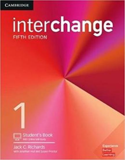 Picture of INTERCHANGE 1 SB WITH ONLINE SELF-STUDY - 5TH ED