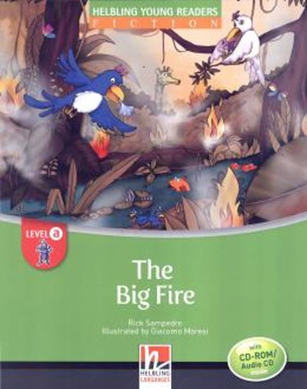Picture of BIG FIRE - LEVEL A WITH CD-ROM AUDIO CD