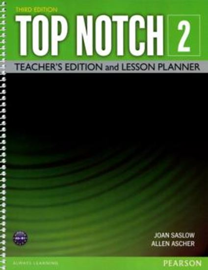 Picture of TOP NOTCH 2 TEACHERS EDITION - 3RD ED