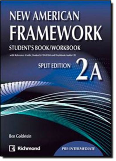 Picture of NEW AMERICAN FRAMEWORK 2A - STUDENT´S BOOK AND WORKBOOK WITH CDS