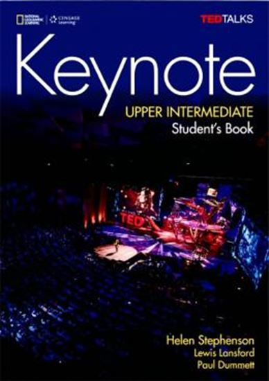 Picture of KEYNOTE UPPER INTERMEDIATE SB WITH DVD ROM - BRITISH