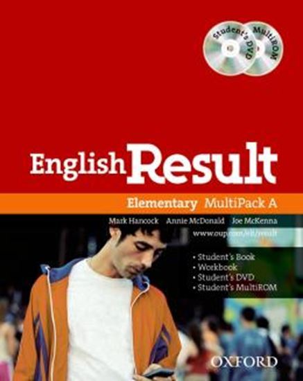 Picture of ENGLISH RESULT ELEMENTARY MULTIPACK A - 1ST ED