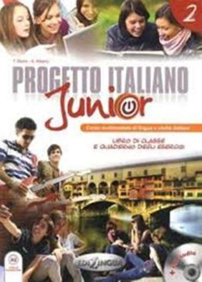 Picture of PROGETTO ITALIANO JUNIOR 2 - LIBRO DI CLASSE & QUADERNO DEGLI ESERCIZI + CD AUDIO (A2)