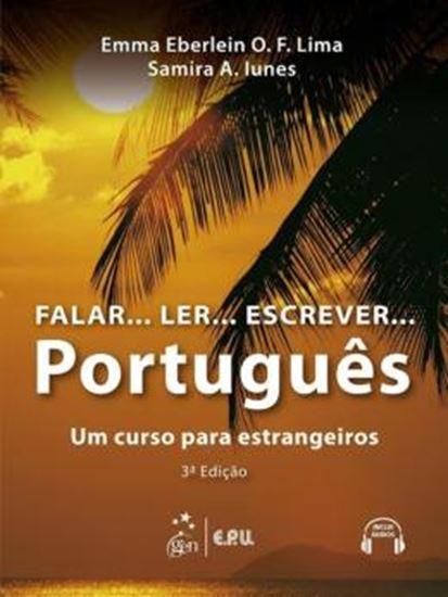 Picture of FALAR...LER...ESCREVER... PORTUGUES - UM CURSO PARA ESTRANGEIROS  + CD-AUDIO  - 3ª ED
