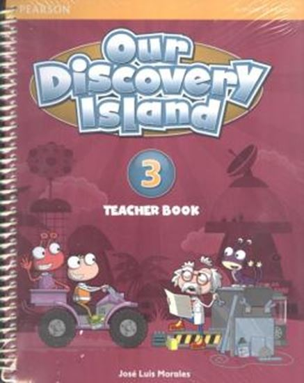 Picture of OUR DISCOVERY ISLAND TEACHER BOOK 3 ENGLISH PACK (TB + WORKBOOK + ONLINE ACCESS CODE + MULTIROM)