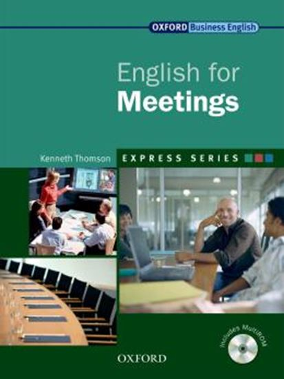 Picture of ENGLISH FOR MEETINGS - WITH MULTIROM