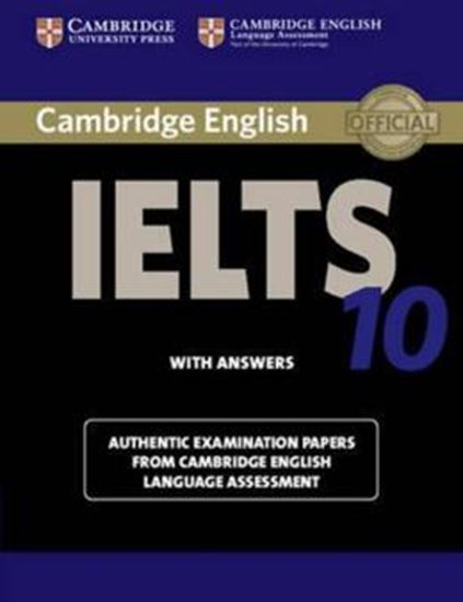 Picture of CAMBRIDGE IELTS 10 SB WITH ANSWERS