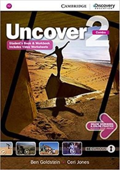 Picture of UNCOVER 2 FULL COMBO WITH ONLINE WORKBOOK AND ONLINE PRACTICE - 1ST ED