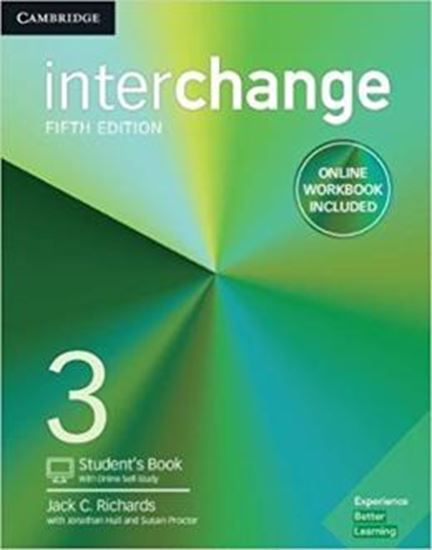 Picture of INTERCHANGE 3 STUDENTS BOOK WITH ONLINE SELF-STUDY AND ONLINE WORKBOOK - 5TH ED