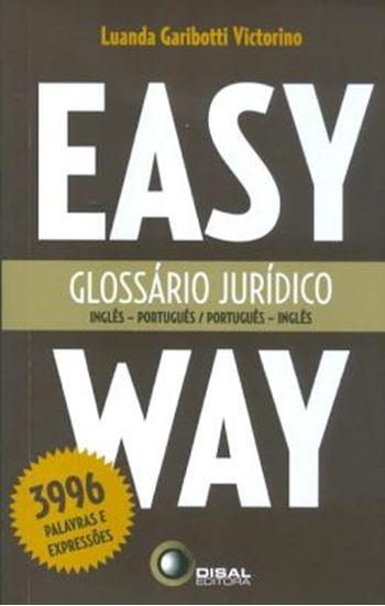 Picture of GLOSSARIO JURIDICO - INGLES/PORTUGUES - PORTUGUES/INGLES - EASY WAY