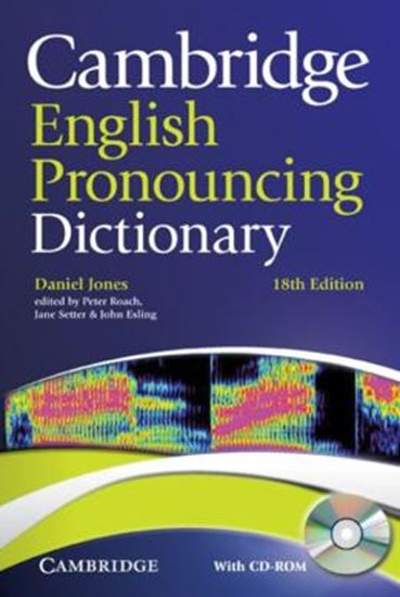 Picture of CAMBRIDGE ENGLISH PRONOUNCING DICTIONARY WITH CD-ROM - 18TH ED