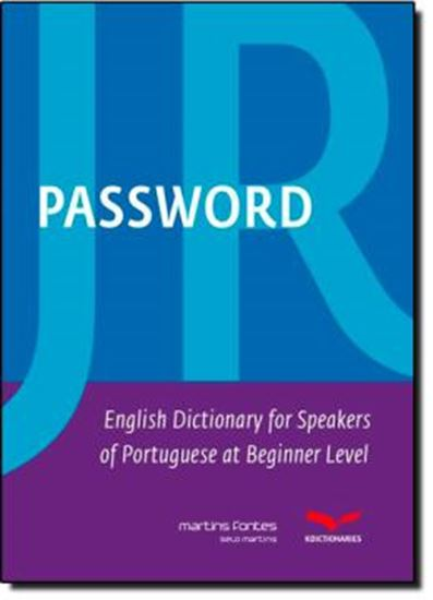 Picture of PASSWORD JR - ENGLISH DICTIONARY FOR SPEAKERS OF PORTUGUESE AT BEGINNER