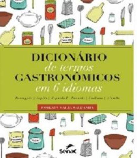 Picture of DICIONARIO DE TERMOS GASTRONOMICOS EM 6 IDIOMAS
