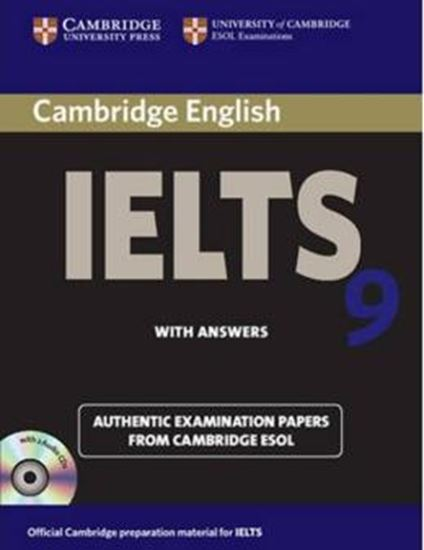 Picture of CAMBRIDGE IELTS 9 AUTHENTIC EXAMINATION PAPERS FROM CAMBRIDGE ESOL SELF-STUDY PACK