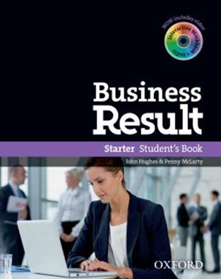 Picture of BUSINESS RESULT STARTER STUDENTS BOOK & DVD-ROM PACK
