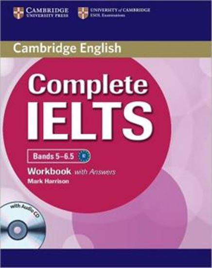 Picture of CAMBRIDGE ENGLISH COMPLETE IELTS BANDS 5-6.5 WB WITH ANSWERS WITH AUDIO CD