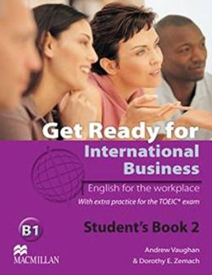 Picture of GET READY FOR INTERNATIONAL BUSINESS 2 SB WITH TOEIC
