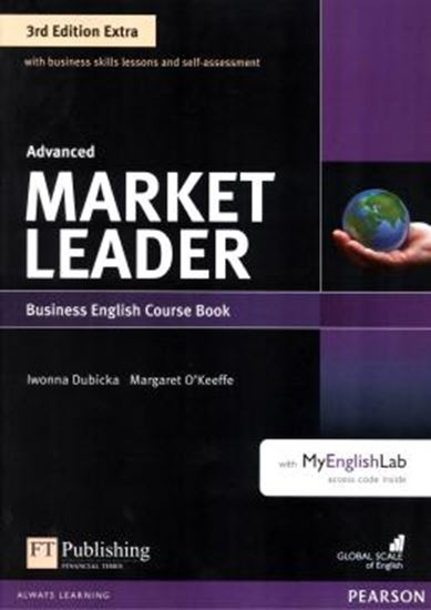 Picture of MARKET LEADER EXTRA ADVANCED CB WITH DVD-ROM AND MYENGLISHLAB - 3RD ED