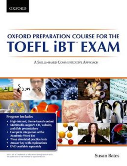 Picture of OXFORD PREPARATION COURSE FOR THE TOEFL IBT EXAM STUDENTS BOOK PACK WITH AUDIO CDS AND WEBSITE ACCESS CODE