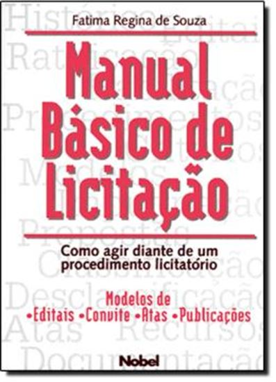 Picture of MANUAL BASICO DE LICITACAO