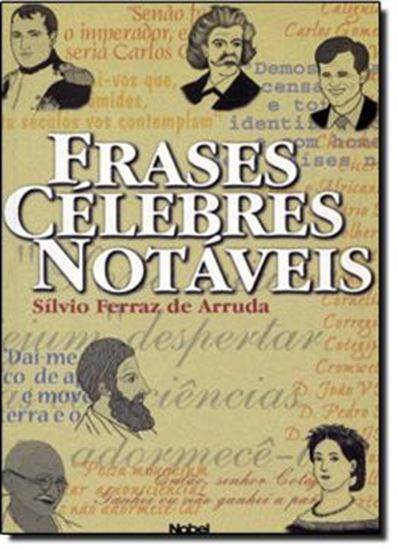 Picture of FRASES CELEBRES NOTAVEIS