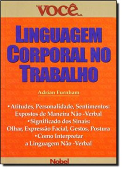 Picture of LINGUAGEM CORPORAL NO TRABALHO   VOCE S.A.