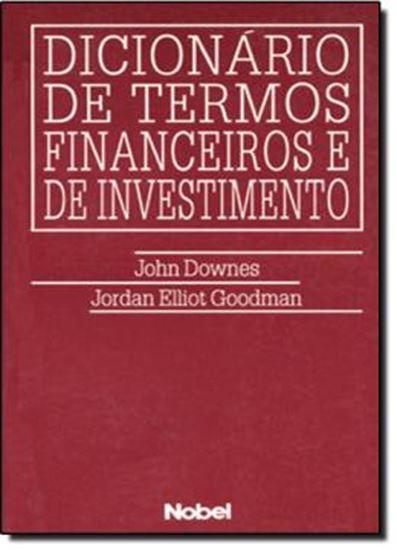 Picture of DICIONARIO DE TERMOS FINANCEIROS E DE INVESTIMENTO
