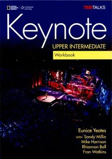 Picture of KEYNOTE UPPER INTERMEDIATE WB WITH AUDIO CD - BRITISH