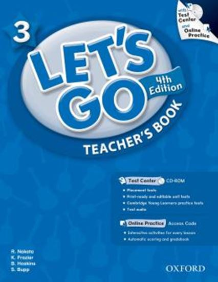 Picture of LETS GO 3 TEACHERS BOOK WITH TEST CENTER PACK - FOURTH EDITION