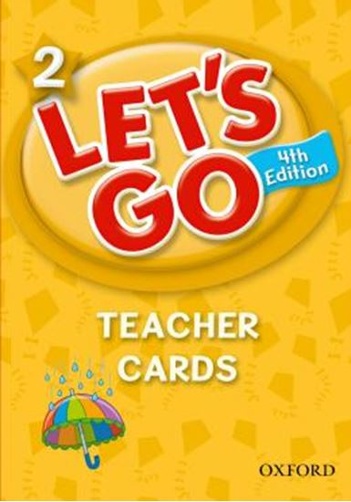 Picture of LETS GO 2 TEACHER CARDS - FOURTH EDITION