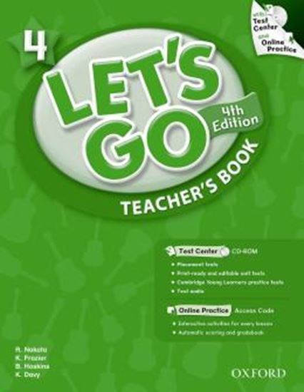 Picture of LETS GO 4 TEACHERS BOOK WITH TEST CENTER PACK - FOURTH EDITION