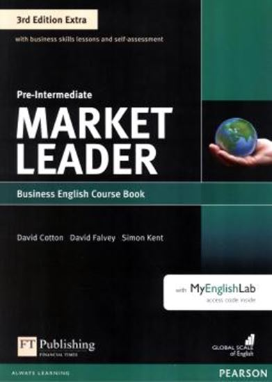 Picture of MARKET LEADER EXTRA PRE-INTERMEDIATE CB WITH DVD-ROM AND MYENGLISHLAB - 3RD ED