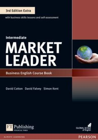 Picture of MARKET LEADER EXTRA INTERMEDIATE CB WITH DVD-ROM AND MYENGLISHLAB - 3RD ED