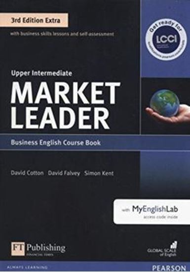 Picture of MARKET LEADER EXTRA UPPER INTERMEDIATE CB WITH DVD-ROM AND MYENGLISHLAB - 3RD ED
