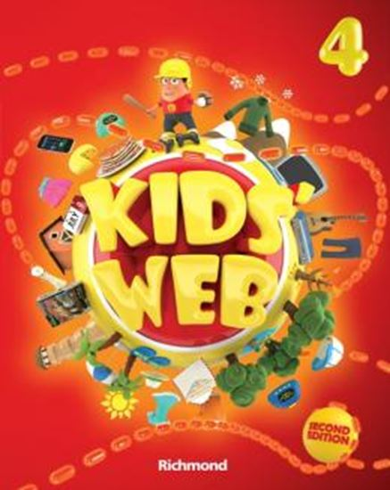 Picture of KIDS WEB 4 - LIVRO DO ALUNO + DVD-ROM + CD AUDIO - 2ND ED