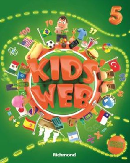 Picture of KIDS WEB 5 - LIVRO DO ALUNO + DVD-ROM + CD AUDIO - 2ND ED