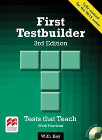 Picture of FIRST TESTBUILDER SB WITH KEY - 3RD ED