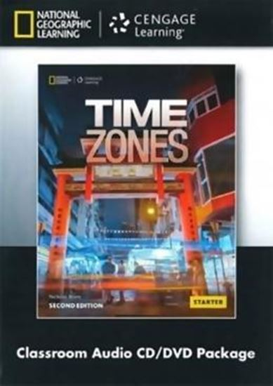 Picture of TIME ZONES STARTER - CLASS AUDIO CD + DVD PACK - 2ND ED