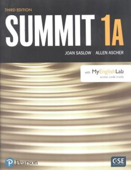 Picture of SUMMIT 1A SB WITH MYENGLISHLAB - 3RD ED