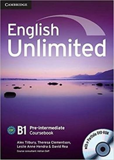 Picture of ENGLISH UNLIMITED PRE-INTERMEDIATE CB WITH DVD-ROM - 1ST ED