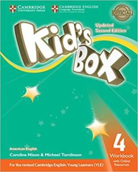 Picture of KIDS BOX AMERICAN ENGLISH 4 WORKBOOK WITH ONLINE RESOURCES - UPDATED 2ND ED